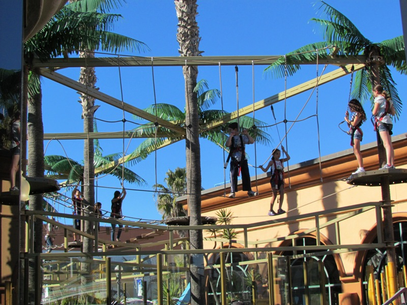 Bemont Park Sky Ropes