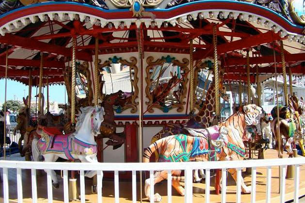 Belmont Park Liberty Carousel
